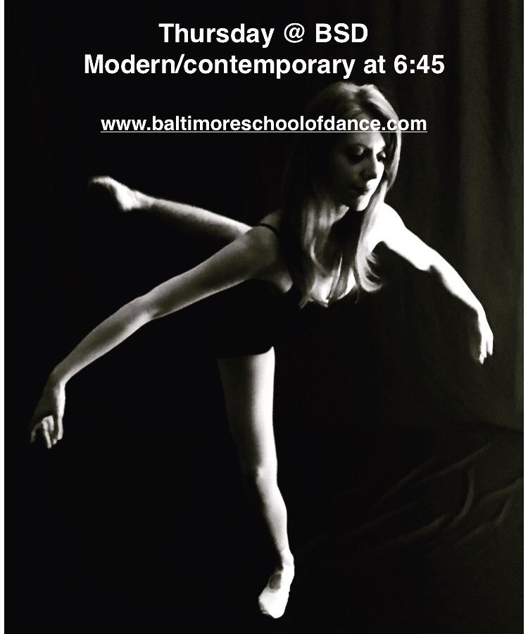 Modern/Contemporary Dance