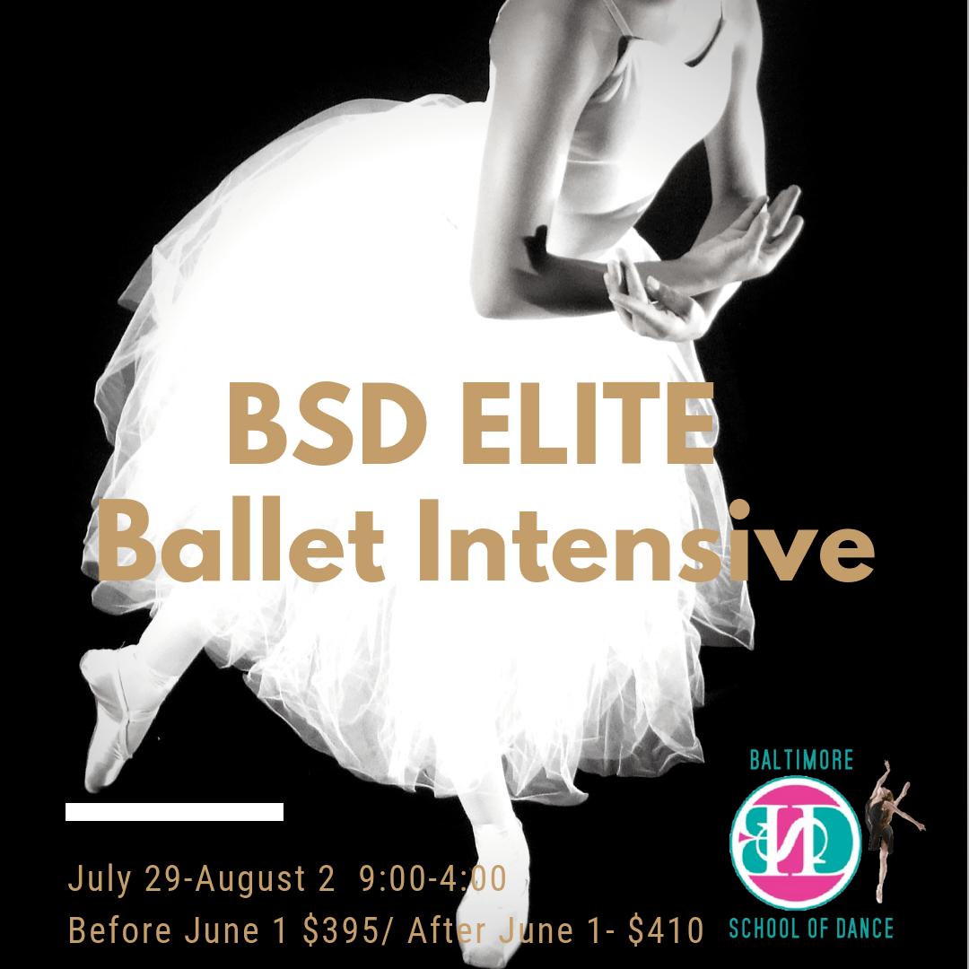 Ballet Intensive   Baltimore School of Dance